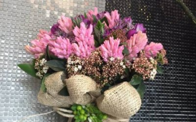 Ladies and Flowers